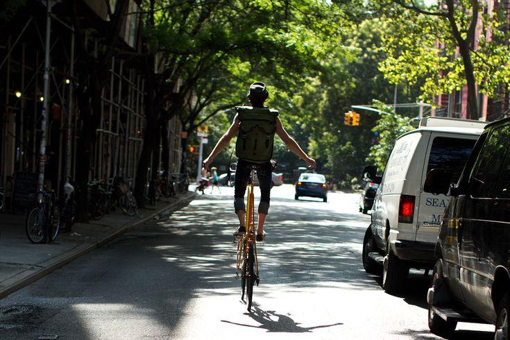 The Sartorialist: Bike Nyc, Bicycles, Tall Bike, Biker Bags, Bike Riding, Bike Rides, Biker Madness, Bike Shots, Bike Ftw