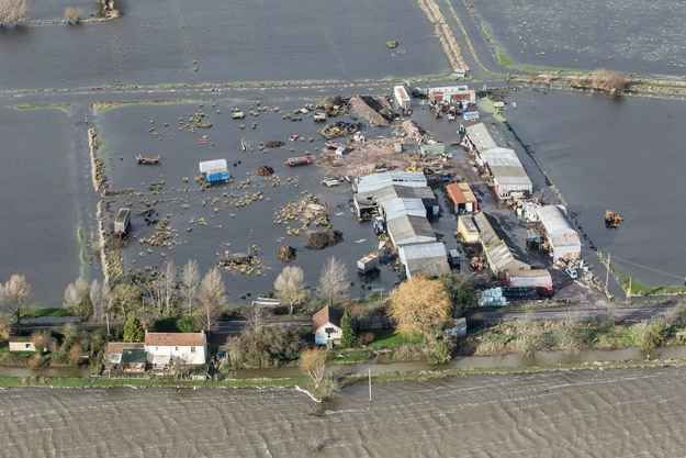 27 Staggering New Pictures Of The Somerset Levels Floods