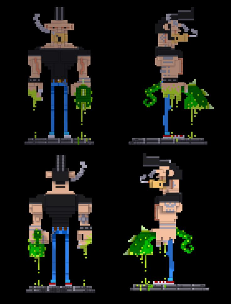 Redesigning my character in Voxel ;)