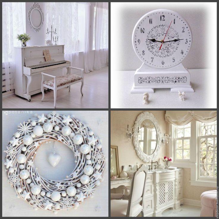 Купить Лучший подарок к Новому году 2017 Часы настольные - белый, часы