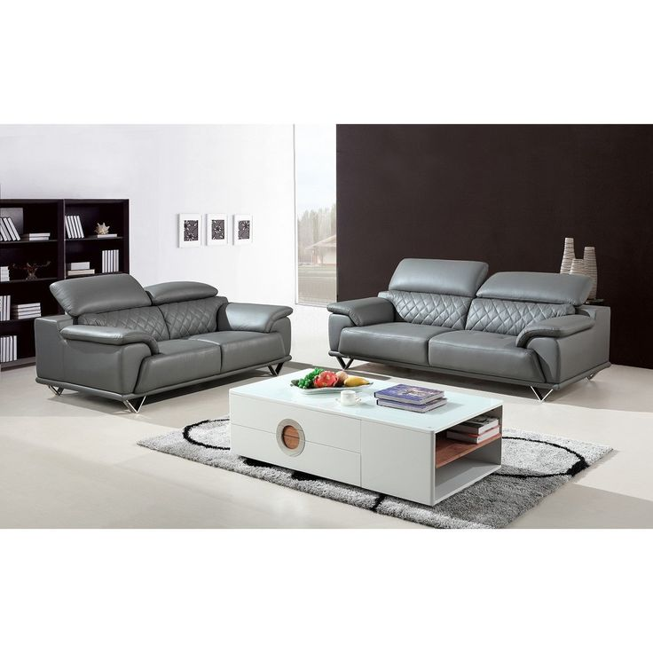 Best 25 grey leather sofa ideas on pinterest for Divani scandinavi