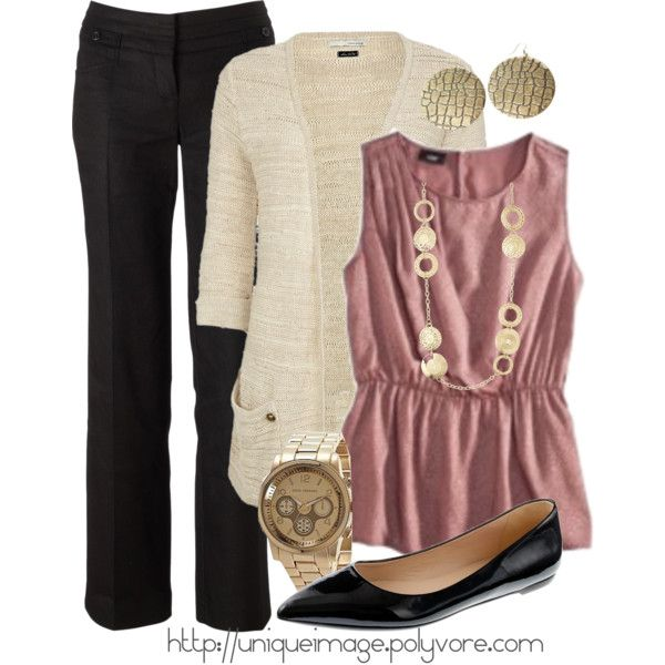 A fashion look from August 2012 featuring Mossimo tops, River Island cardigans and Monsoon pants. Browse and shop related looks.