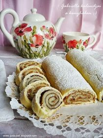 Gabriella kalandjai a konyhában :): Linzertekercs - zserbós és kakaós töltelékkel