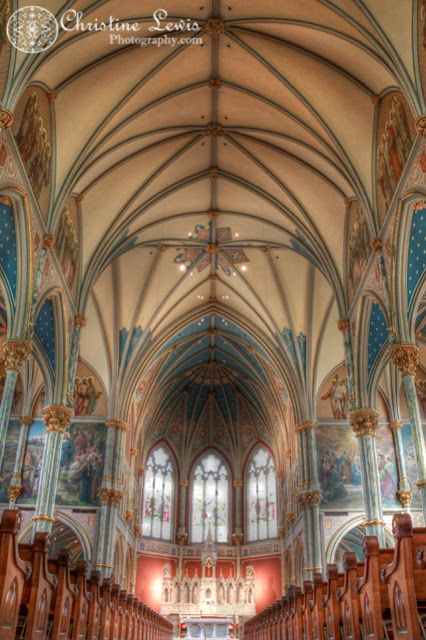 things to see in savannah historic district | The Cathedral of St. John the Baptist: Savannah, GA