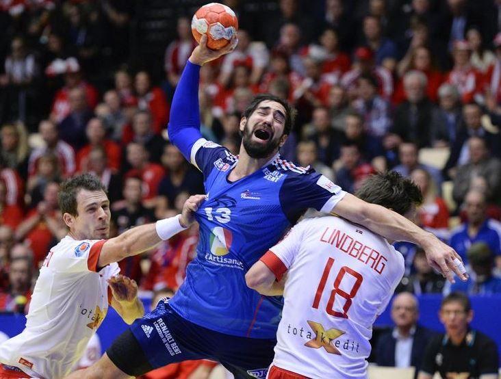 Equipe de France de Handball Championne d'Europe.  Highlight Final