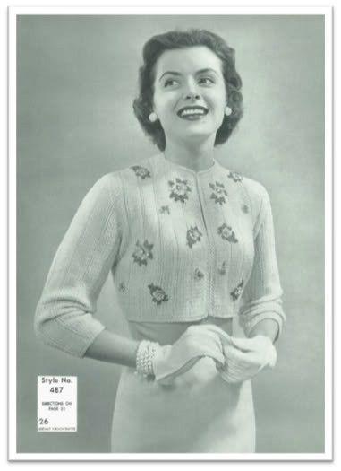 EDNA KNITTING PATTERN #2577