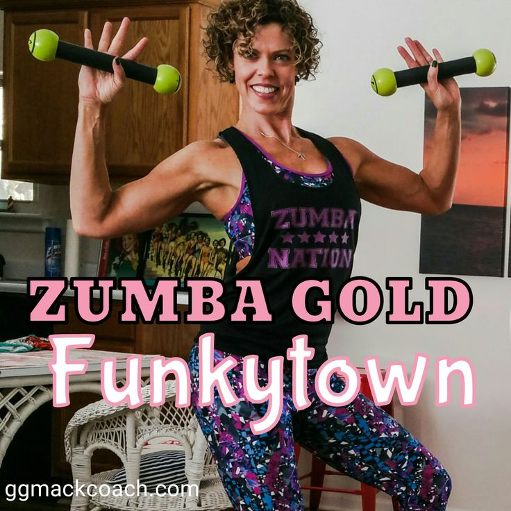 Funkytown Zumba Gold Toning Zumba, Fitness workout for