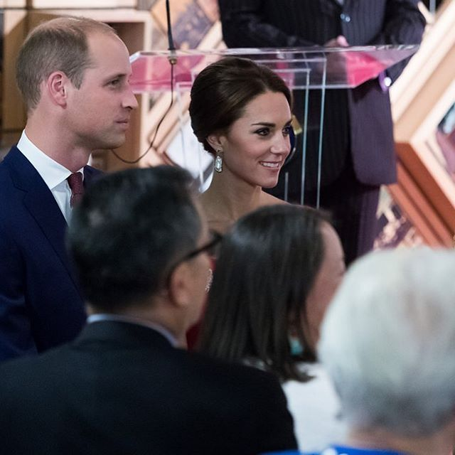 On day three of the #royalvisitcanada The Duke and Duchess attended a reception at Government House, hosted by the Government of British Columbia.