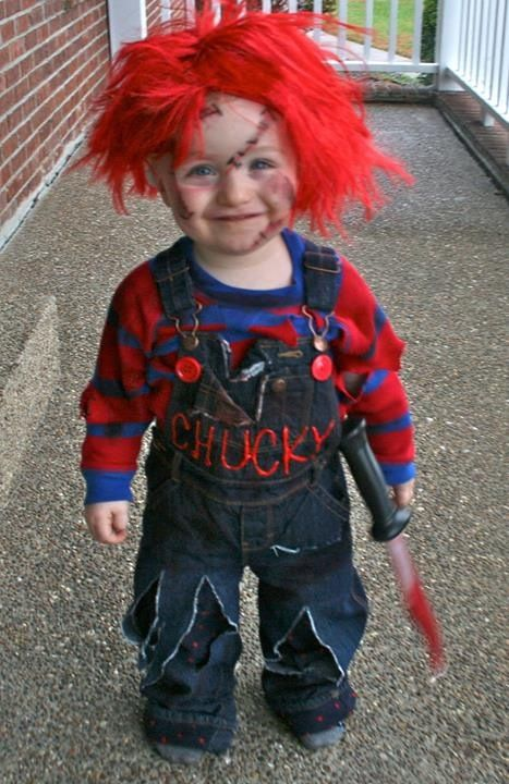 DIY Chucky cosplay / halloween costume! | So proud of you ...