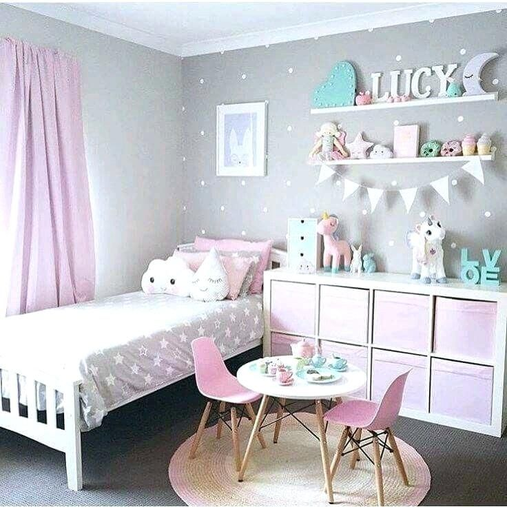Cute Decorating Ideas For Bedrooms Fabulous For Cool Bedroom Colors Little Girl Bedroom Color Ideas Cute Co Toddler Bedrooms Toddler Bedroom Girl Girls Bedroom