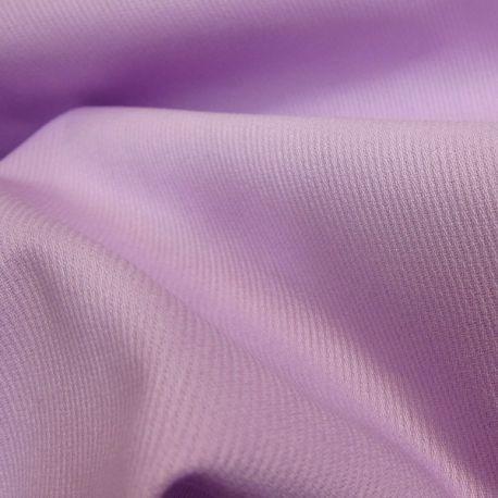 Pour la base de la jupe :   TISSU EN PIQUÉ DE COTON MILLERAIES UNI parme