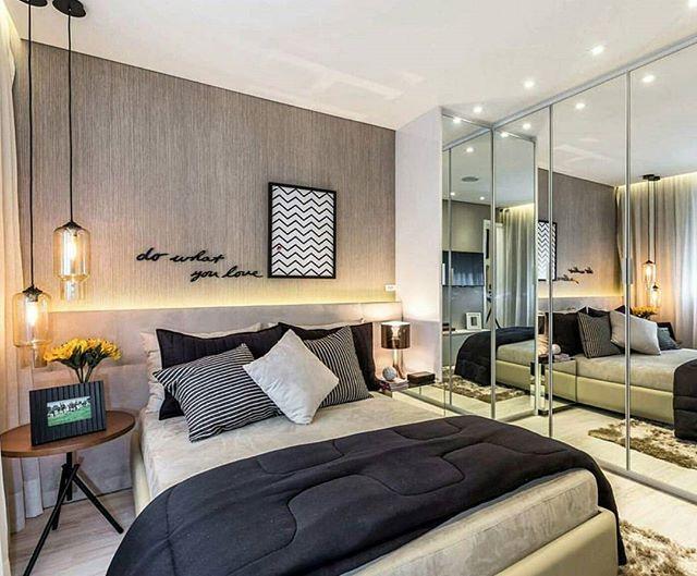 Bom dia! Inspiração de um quarto de casal #welove #decor #decoraçao #details #detalhes #interiores #inspiration #inspiraçao #instadecor #instalike #beautiful #arquitetura #architecture #interiores #homedecor #quarto #bedroom #decoraçao #decoration #bomdia #goodmorning #welovedecor