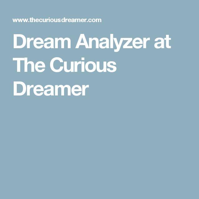 Dream Analyzer at The Curious Dreamer