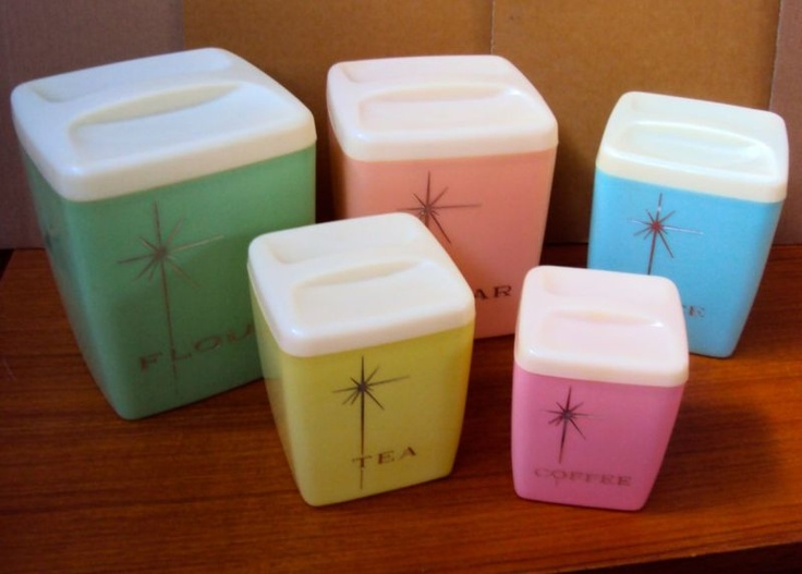 Canister Set, Pretty Cute, I Barely Remember These.