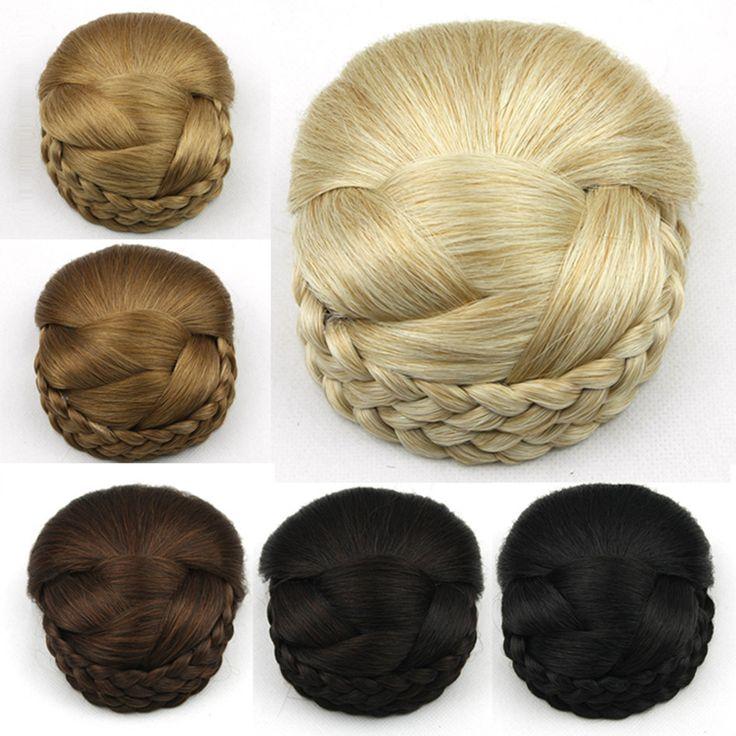Coque de Cabelo Sintético Trançado 50 Gramas 6 cores Modelo 3 – Mega Hair Tic Tac – Elegant Beauty International