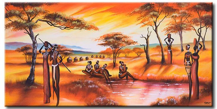 Vedi il quadro L'incantesimo etnico e altre decorazioni murali nella galleria di bimago - quadri su tela, quadri trittici, reproduzioni e stampe su tela.