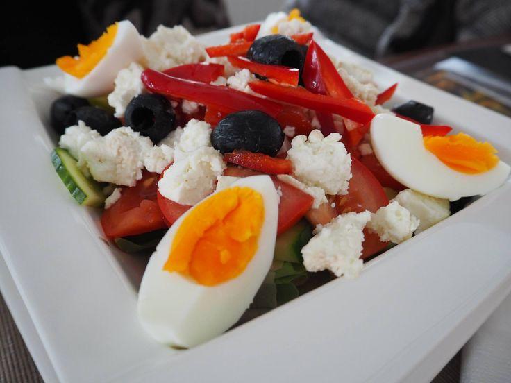 Salat | Lunch | Natural ingredients | Pleasure | Food | Healthy | Weekend | Bratescu Mansion, Bran, Romania
