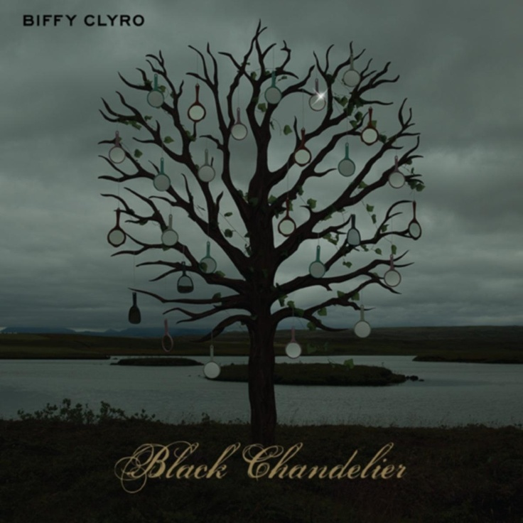 single cover art: biffy clyro - black chandelier [01/2013]