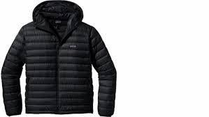 Patagonia Down Sweater Hoody(W)-Black