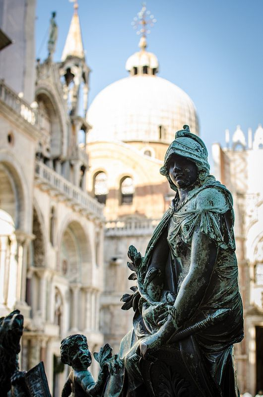 St. Mark's Square & Caffe Florian - Venice, Italy