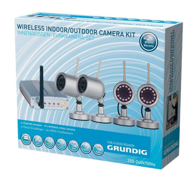 Draadloze Camera + Ontvanger Set (Grundig)