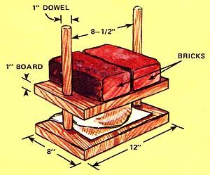 How To Make A Cheese Press