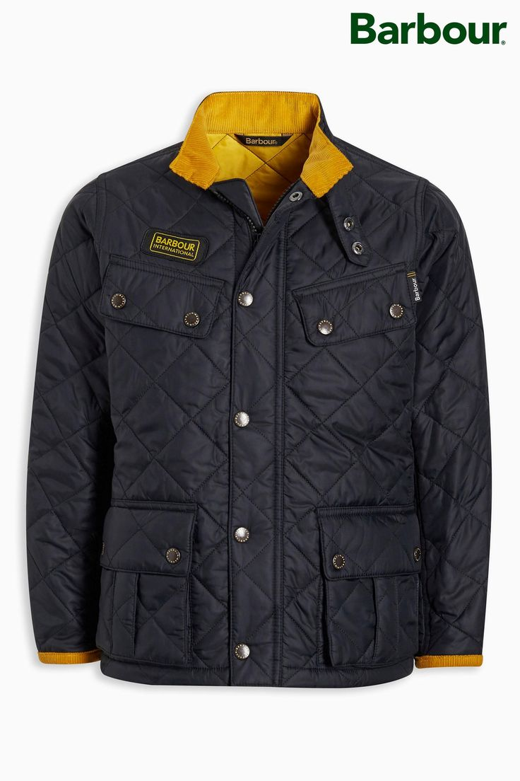 Buy Barbour® Black International Ariel Quilt from the Next UK online shop