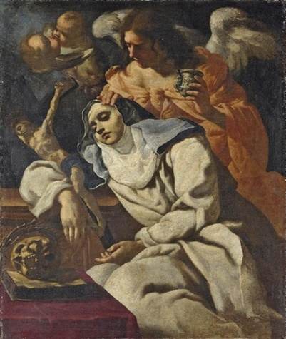 """""""Our prayer must be humble, fervent, resigned, persevering, and deeply reverent, for we must reflect that we are in the presence of a God and speaking with a Lord before Whom the Angels tremble out of respect and fear."""" ~ St.Mary Magdalen dePazzi OCD ~Feast Day: May 25"""