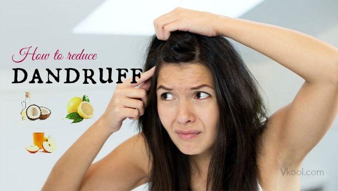 how to reduce dandruff