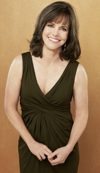 """Sally Field. A very good actress who is aging gracefully. I think (and hope) it is mostly natural with make-up being the only """"artificial"""" element."""