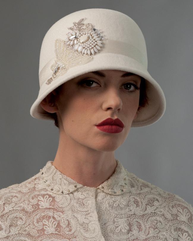 Exuberantes: chapéus para noivas Louise Green Millinerry                                                                                                                                                                                 Mais