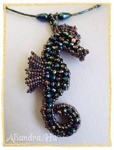 Free 3D Beading Patterns | 3Dbeading.com Beading Forum - 3D seahorse