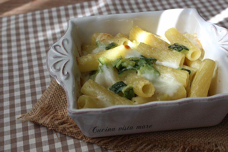 Pasta+al+forno+con+zucchine+e+scamorza