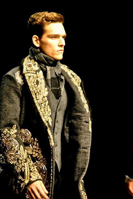 ♂ Tribal Ethnic Exotic Man Fashion Milan Mens Fashion Week-Dolce & Gabbana Autumn/Winter 2012