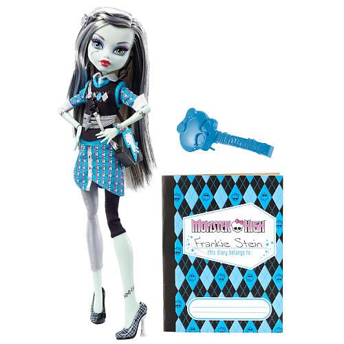 """Frankie Stein from S2 E3! Personally, I don't really like Monster High, but since they're so popular, we had to use them in at least one episode! :) - Monster High Doll - Frankie Stein - Mattel - Toys """"R"""" Us"""