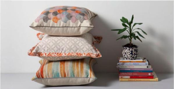 Nancy Bird cushions