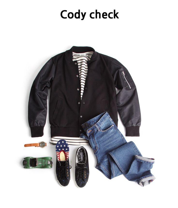MA-1 항공자켓을 이용한 남자코디법  존클락 오늘의코디,추천코디,남자코디,남자패션,남성옷,남성복,남자쇼핑몰,데일리룩,남자옷