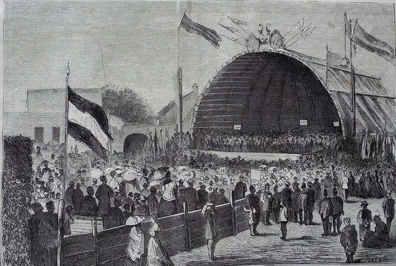 festival 1800s