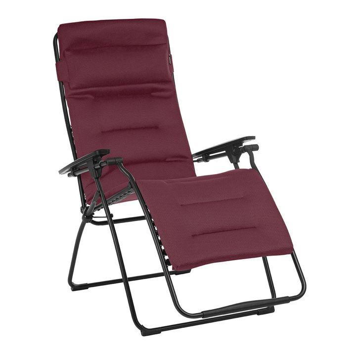 Xtend Angebote Lafuma Futura XL Air Comfort® Relaxliege Rot: Category:  Campingmöbel U003e