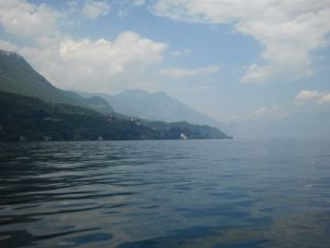 Lake Garda from the boat