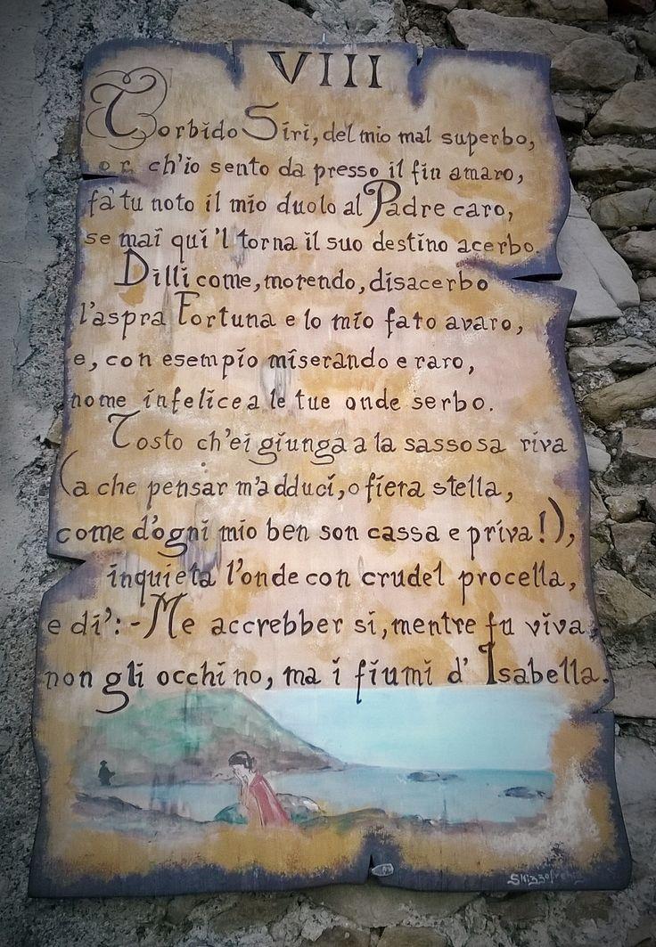 Isabella Morra a cura di Cataldo Antonio Amoruso per Il sasso nello stagno di AnGre - https://ilsassonellostagno.wordpress.com/2015/03/09/omaggio-alla-donna-e-alla-poesia-isabella-di-morra-a-cura-di-cataldo-antonio-amoruso/