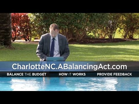 City of Charlotte's Balancing Act Online Budget Simulation Tool (Promo 2)