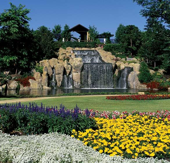 sunken gardens | The Sunken Garden | Hunter Valley Gardens