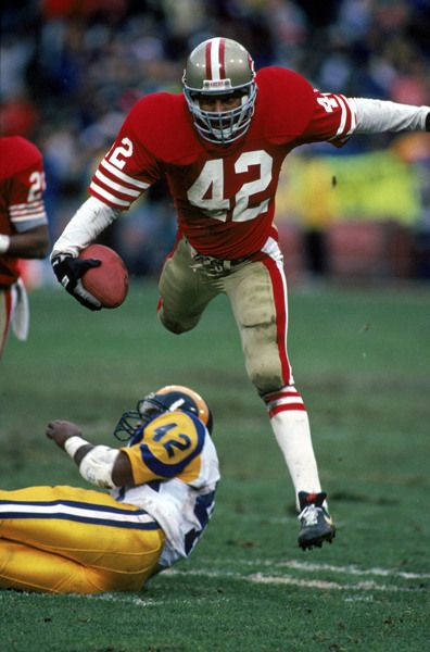 """Ronnie Lott 49er great  """"If you can believe it, the mind can achieve it."""""""
