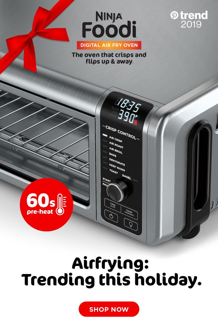Experience one of the top trending cooking methods of Air Frying with the Ninja…