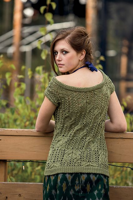 Ravelry: Austin Tee pattern by Jean Chung