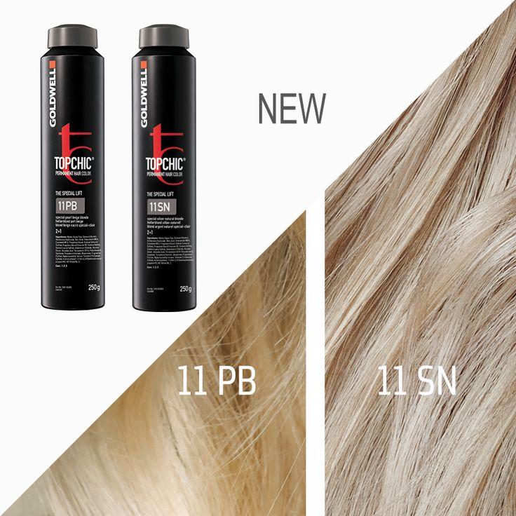 Goldwell Topchic 11 Pb Amp 11 Sn Hair In 2019 Hair