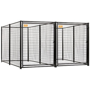 ASPCA Heavy Duty Dog Kennel 2-run w/common wall