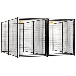 ASPCA Heavy Duty Dog Kennel 2-run w/common wall
