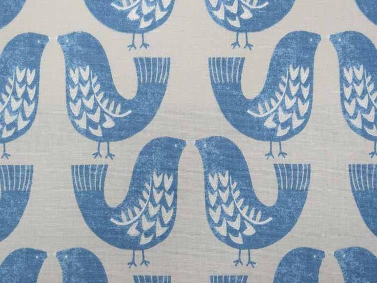 iLiv Scandi Birds fabric